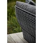 Cane-line Basket 2-istuttava sohva, grafiitti - harmaa
