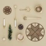 Ferm Living Joulukuusen kynttilänpidikkeet, 4 kpl