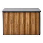 Cane-line Combine säilytyslaatikko, pieni, tiikki - tummanharmaa