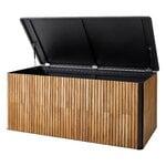 Cane-line Combine säilytyslaatikko, iso, tiikki - tummanharmaa