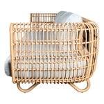 Cane-line Nest 3-seater sofa, natural - light grey
