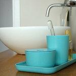 Ekobo Bano toothbrush holder, lemon