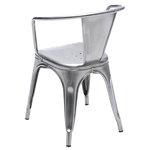 Tolix A56 chair, metal