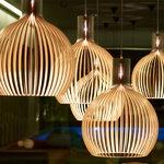 Secto Design Lampada Octo 4240, noce