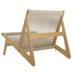 Gubi MR01 Initial chair, oiled oak