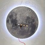 Kotonadesign Moon seinävalaisin / muistitaulu