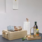 Skagerak Norr bread box, oak