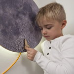 Kotonadesign Moon wall lamp / noteboard