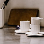 Hay Paper Porcelain espresso cup, light grey