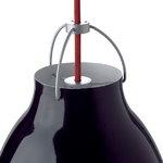 Fritz Hansen Lampada Caravaggio P2, nera