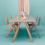 Hay CPH30 table, lacquered oak - off white lino, PU lacquer