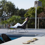 Cane-line Breeze footstool, black