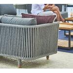 Cane-line Moments 3-istuttava sohva, harmaa