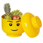 Room Copenhagen Contenitore Lego Storage Head, S, Boy
