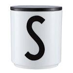 Design Letters Puinen kansi, musta