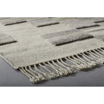 Anno Tofuku wool rug 170 x 240 cm, white - grey