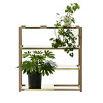 Adea The Botanic Shelf, natural oak - brass