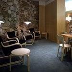 Artek Aalto chair 66, white laminate