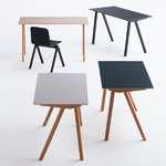 Hay CPH90 desk, black oak