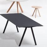 Hay CPH10 table 160x80 cm, black oak