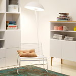 Lundia Kajo floor lamp, white