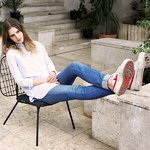 Menu WM String cushion for lounge chair, outdoor, dark grey