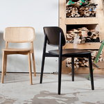 Hay Soft Edge 12 chair, black stained oak