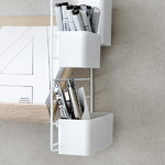 String Furniture String organizers, 3-pack, grey