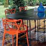 Kartell Sedia Masters, arancione