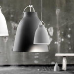 Fritz Hansen Lampada Caravaggio P1, grigio chiaro opaco