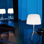 Foscarini Lumiere 05 table lamp, small, white