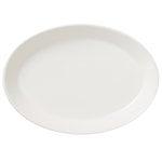 Arabia KoKo oval platter, white