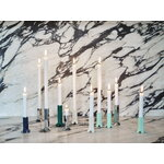 HAY Arcs candleholder, L, green