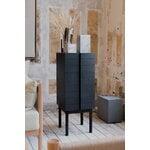 Ariake Column chest of drawers, black