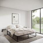 Nichba Bed Frame sänky, musta