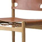 Fredericia The Spanish Dining Chair, cognac leather - oiled oak