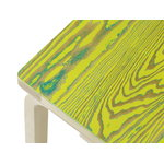 Artek Aalto bench 153B ColoRing, green - yellow