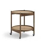 Brdr. Krüger Bølling tray table 50 cm, fumed oak - earth