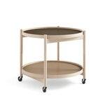 Brdr. Krüger Bølling tray table 60 cm, oiled beech - earth