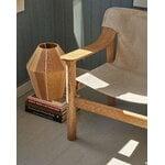HAY Bernard lounge chair, oak - canvas