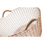 Korbo Wire basket Classic 35, copper