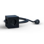 Avolt Square 1 USB jatkojohto, musta