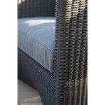 Cane-line Diamond nojatuoli, grafiitti - harmaa
