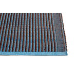 Hay Tapis matto, kastanja - sininen