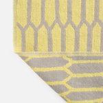 Hem Kenno throw 130 x 180 cm, yellow - grey