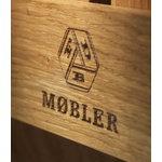 FDB Møbler X1 apple box, L