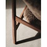 Menu Poltrona Knitting Chair, noce - pelle di pecora Cork 19