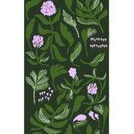 Marimekko Kasvio kangas, vihreä - liila