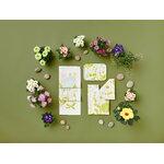 Kauniste Kesäpiilo keittiöpyyhe, vaaleanvihreä