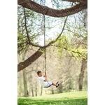 Lillagunga Disco Outdoor swing, walnut - black